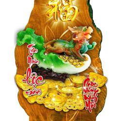 Lịch gỗ Phong Thủy Tỳ Hưu giá sỉ