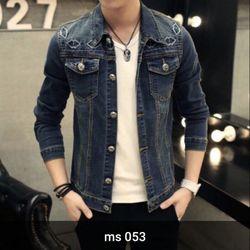 Áo Khoác Jeans Nam MS 053
