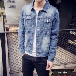 Áo Khoác Jeans Nam MS 139