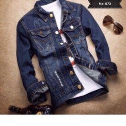 Áo Khoác Jeans Nam MS 073