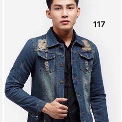 Áo Khoác Jeans Nam MS 116