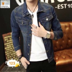 Áo Khoác Jeans Nam MS 123