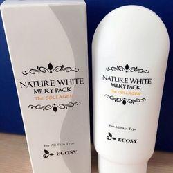 Kem Dưỡng Trắng Da Body Nature White Milky Lotion Hàn Quốc 150g
