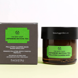 Mặt Nạ The BodyShop Japanese Matcha Tea Pollution Clearing Mask giá sỉ