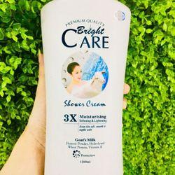 Sữa dê tắm trắng da Bright Care 3X 1200ml giá sỉ
