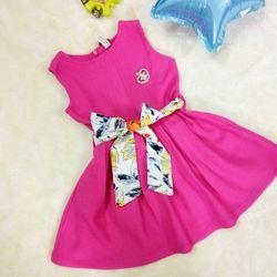 Váy xòe đai hoa giá sỉ