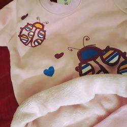 Bộ đồ lót lông trẻ em- Hàn giá sỉ