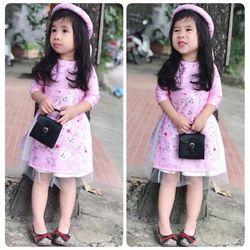 áo dài cách tân bé gái