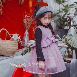 D590 Đầm công chúa nỉ giá sỉ