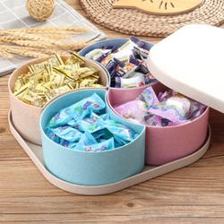Hộp đựng bánh kẹo - Candy Box hình vuông 4 chi tiết