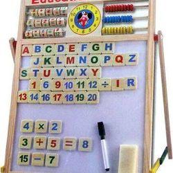 Bảng gỗ giáo dục 2 mặt thông minh giá sỉ