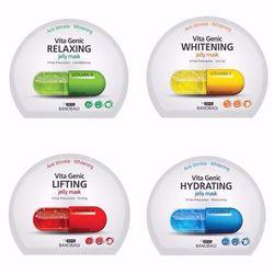 Gấp Đôi Dưỡng Chất Với 40000ppm Vitamin A - B - C - E Mặt Nạ Banobagi Vita Genic Jelly Mask X 2 Upgrade - MNBNBG01