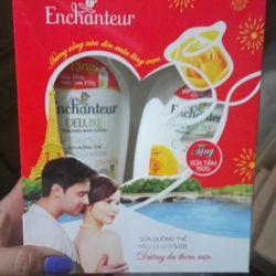 sữa dưỡng thể Enchsnteur 200gr tặng kèm sữa tắm Enchsnteur 150gr giá sỉ