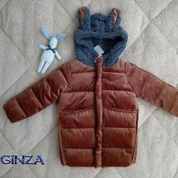 Áo khoác băng lông bé trai bé gái
