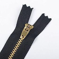 Dây khóa kéo răng đồng 4 YG màu đồng vàng hoặc đồng cổ giá sỉ