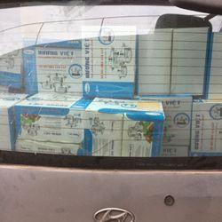 bộ nồi inox 3 cái 1 đáy gửi các Npp và siêu thị điện máy trên miền Bắc giá sỉ