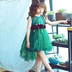 Đầm xòe công chúa cho bé gái giá sỉ