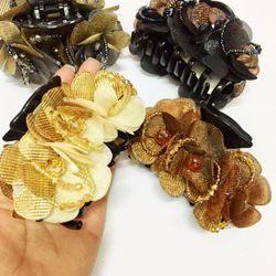 Gấp tóc hoa pha lê