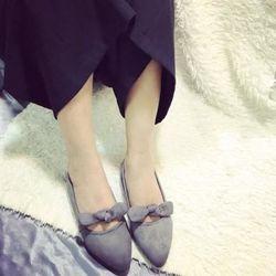 Giày búp bê thắt ú