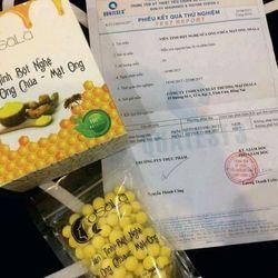 OSALA Viên Tinh Nghệ Mật Ong Sữa Ong Chúa  ������ Thành phần Viên Tinh Nghệ Mật Ong Sữa Ong Chúa OSALA giá sỉ