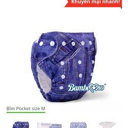 Tả vải Bambimio pocket giá sỉ