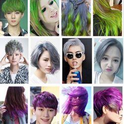 Sáp nhuộm tóc nhiều màu gội là sạch