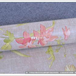 decal giấy dán tường hoa cổ điển xanh