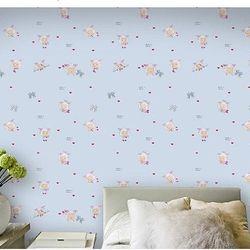 decal giấy dán tường cừu xanh giá sỉ
