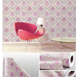 decal giấy dán tường hoa đằng hồng giá sỉ