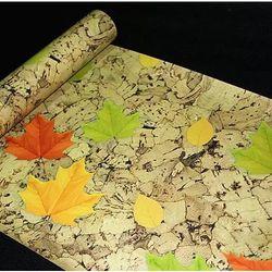 decal giấy dán tường lá mùa thu