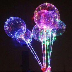 Bong bóng phát sáng có đèn led Galaxy lung linh giá sỉ