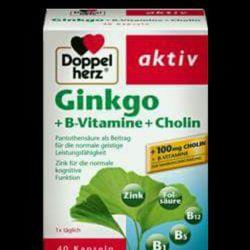 thuốc bổ não ginkgo B vitamin cholin