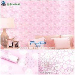 decal giấy dán tường pháo bông hồng