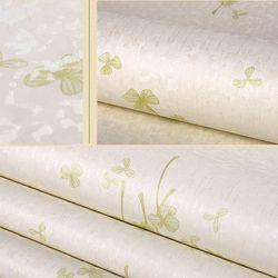 decal giấy dán tường nơ ba cánh xanh giá sỉ