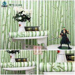 decal giấy dán tường trúc xanh