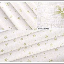 decal giấy dán tường hoa năm cánh xanh