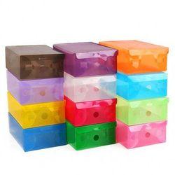 Combo 10 hộp đựng giày nhiều màu