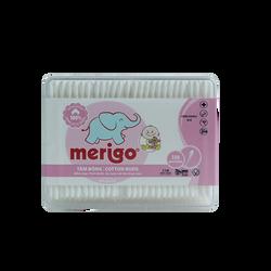 Tăm bông trẻ em Merigo 330 que/ hộp chữ nhật giá sỉ