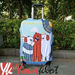 BỌC VALI DU LỊCH Túi áo vải trùm vali không bao gồm vali 2017Size 24Nhiều Mẫu giá sỉ