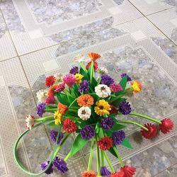Giỏ hoa treo