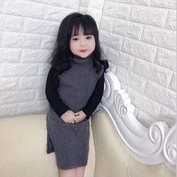 set váy áo bé gái giá sỉ, giá bán buôn