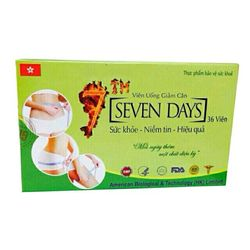 Viên uống giảm cân Seven Day từ thảo dược thiên nhiên giảm cân hiệu quả giá sỉ