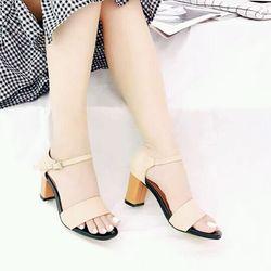 giày sandal cao gót sarisiu srs05 giá sỉ