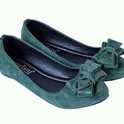 giày búp bê nỉ nơ 3 tầng sarisiu srs15 giá sỉ