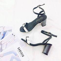 giày sansal cao gót sarisiu srs02 giá sỉ