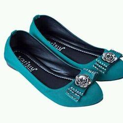 giày búp bê đá xanh sarisiu srs18 giá sỉ