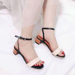 giày sandal cao gót sarisiu srs04 giá sỉ