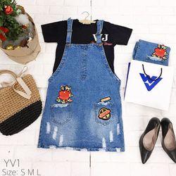 Yếm váy A Cotton