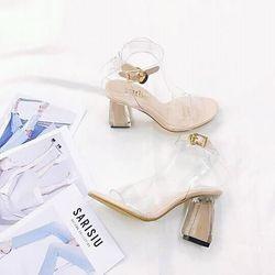 giày sandal cao gót sarisiu srs55 giá sỉ