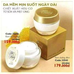 Kem dưỡng da ban đêm Milk and Honey 50ml